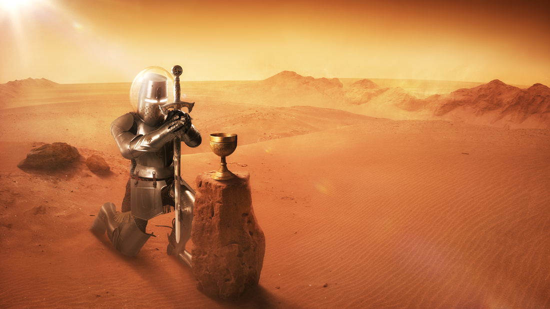 Holy Grail found on Mars!